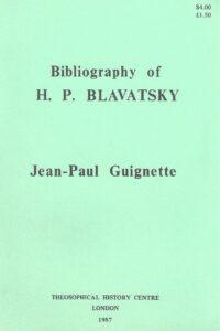 Bibliography of H.P. Blavatsky