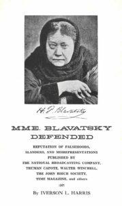 Mme. Blavatsky Defended