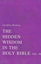 The Hidden Wisdom in the Holy Bible – Volume III