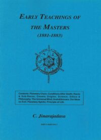 Early Teachings of the Masters (1881 – 1883)