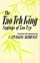 The TAO-Teh-King – Sayings of Lao Tszu