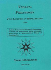 Vedanta Philosophy – Five Lectures on Reïncarnation (1908)