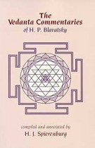 The Vedanta Commentaries of H.P.Blavatsky