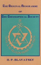 The Original Programme of the Theosophical Society