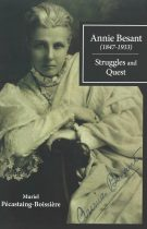 Annie Besant (1847 – 1933) – Struggles and Quest