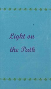 Light on the Path – And an Essay on Karma (Adyar Mini)