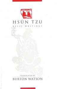 Hsün Tzu – Basic Writings