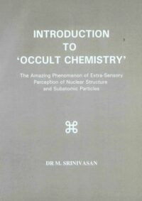 Introduction to Occult Chemistry